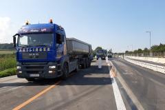 Antlinger Transporte LKW Straßenbau
